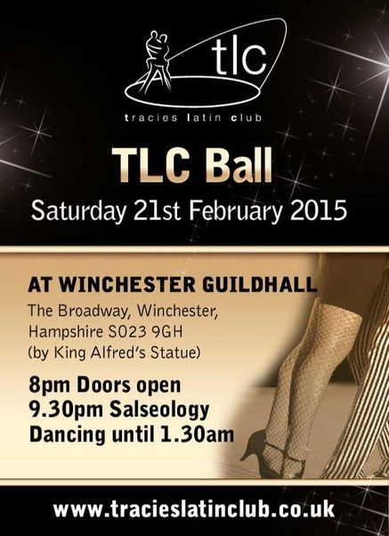 TLC Ball at Winchester Gulidhall 2015